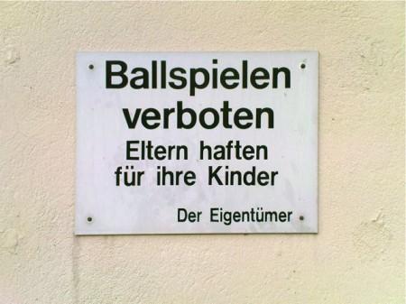 Ballspielen