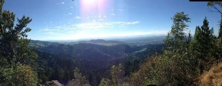 Kybfelsen Panorama