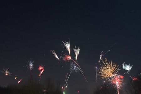 Feuerwerk Köln 2015