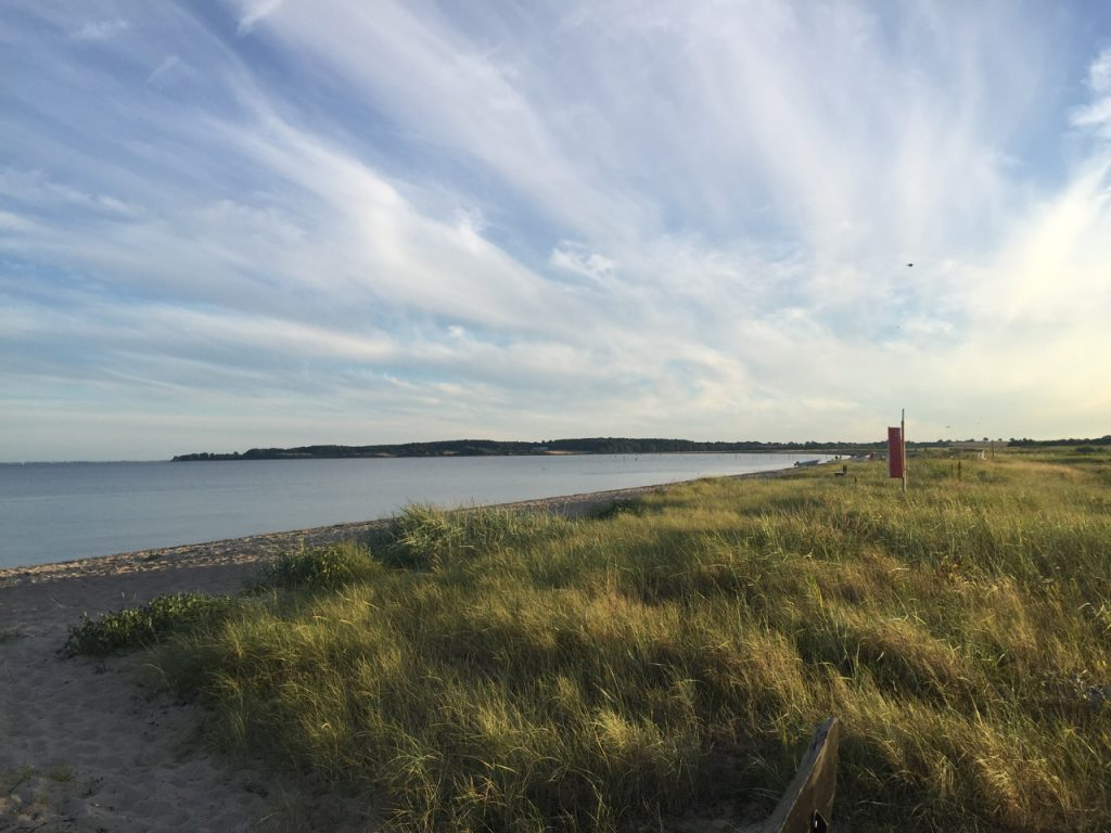 Unser toller, ruhiger Strand